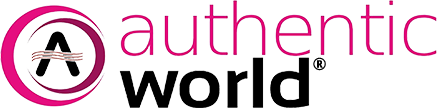 Authentic world Logo